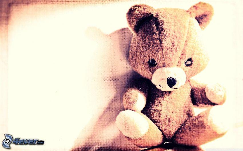 peluche teddy bear, orsacchiotto