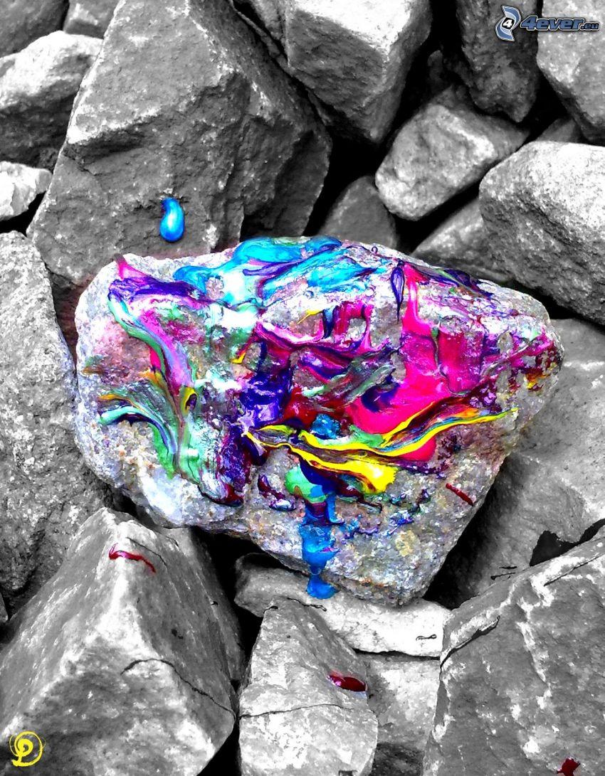 pietre, colori, rocce