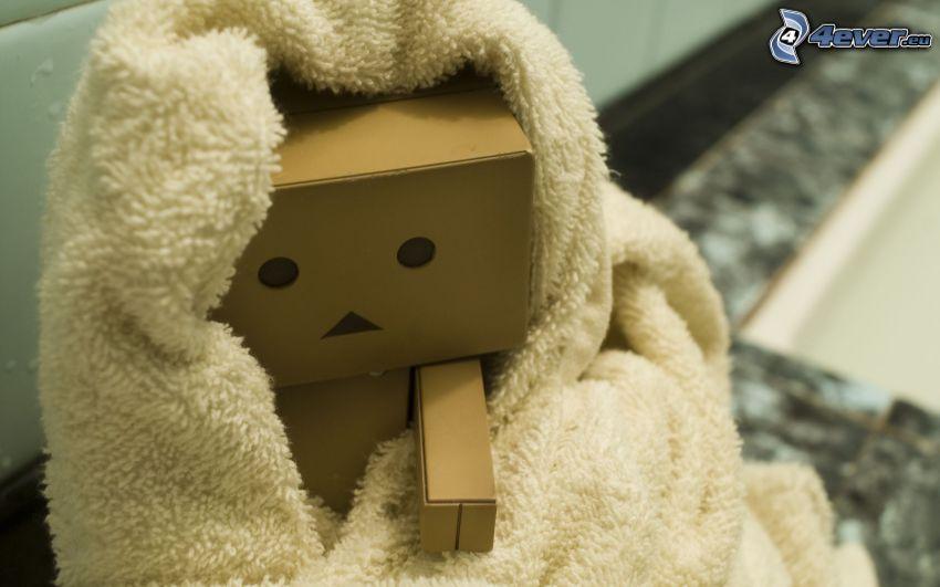 robot di carta, coperta