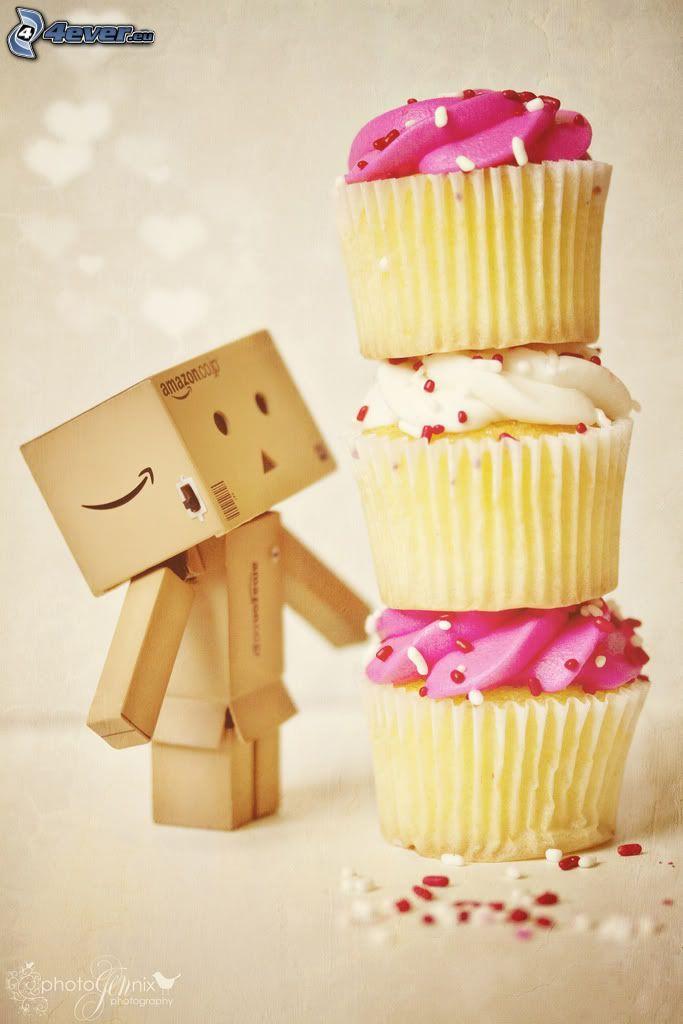 robot di carta, Muffin