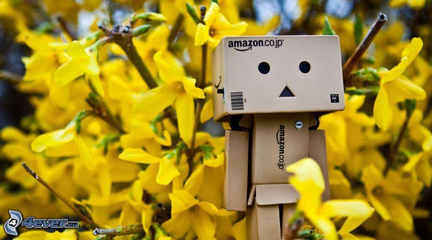 robot di carta, pioggia d'oro