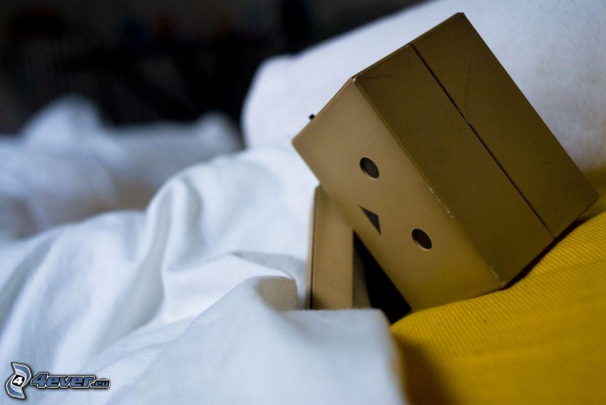 robot di carta, tristezza