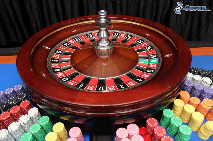 roulette, fiches