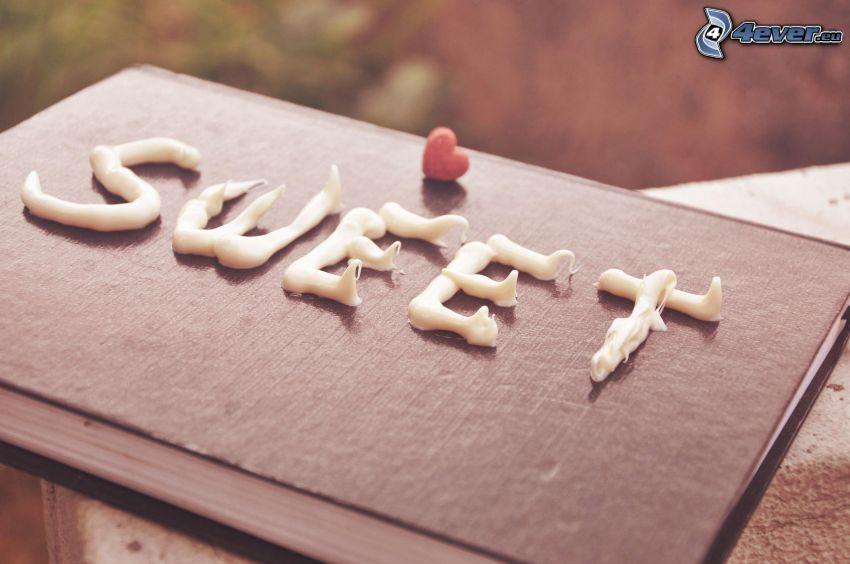 sweet, libro