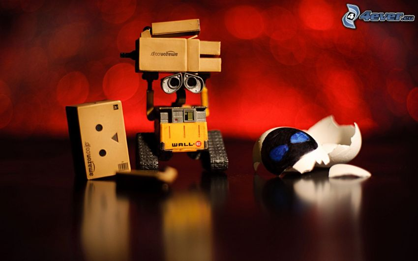 WALL·E, robot di carta