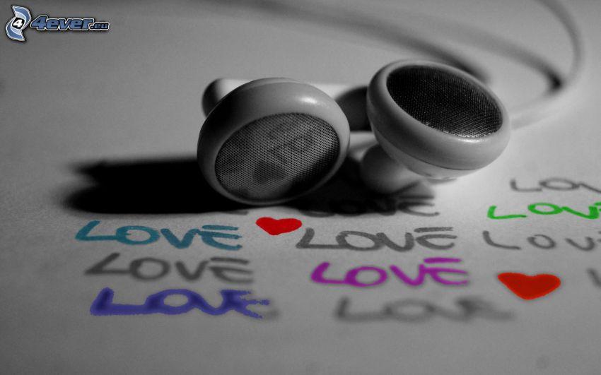 cuffie, love