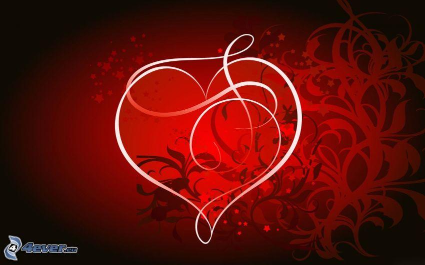 cuore, arte digitale