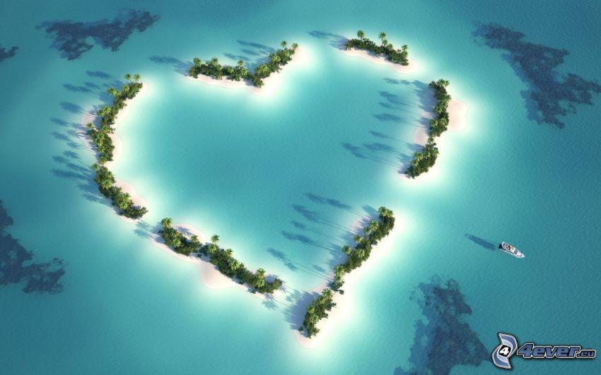 cuore, isola