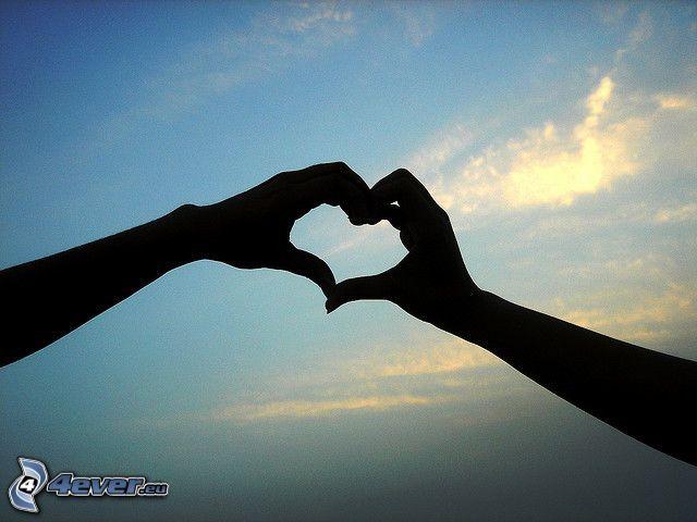 cuore delle mani
