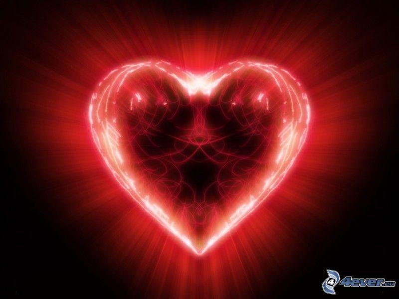 cuore lucente