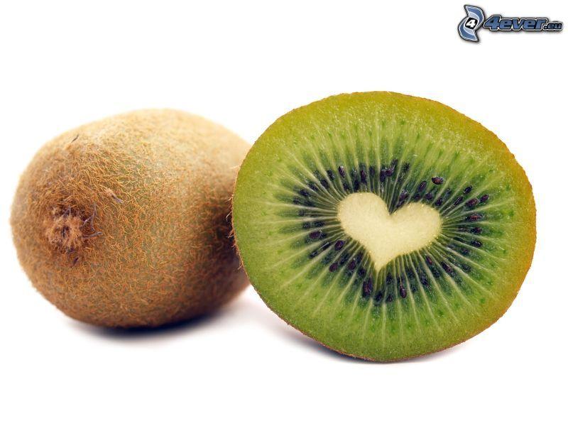 kiwi, cuore