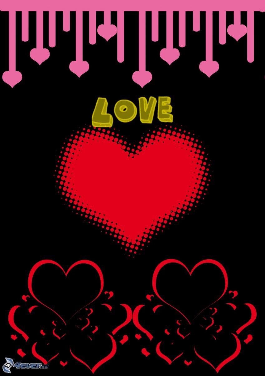 love, cuori