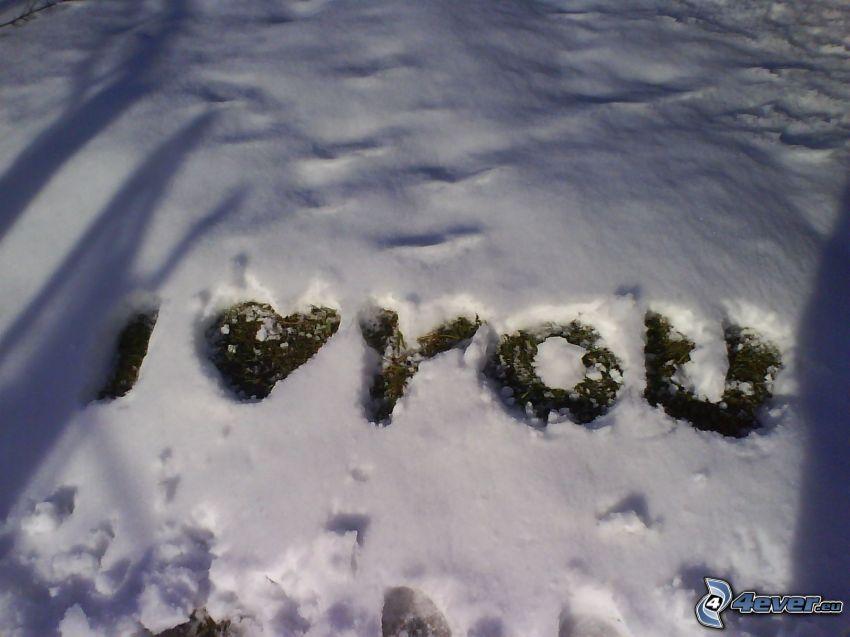love, Ti amo, amore