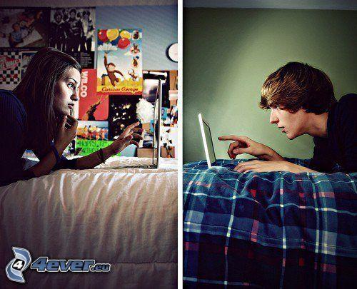 amore via internet