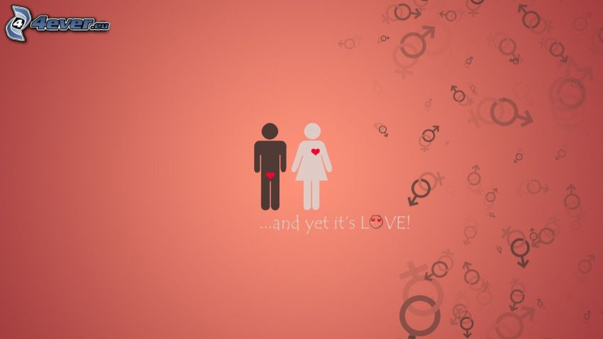 coppia animata, amore