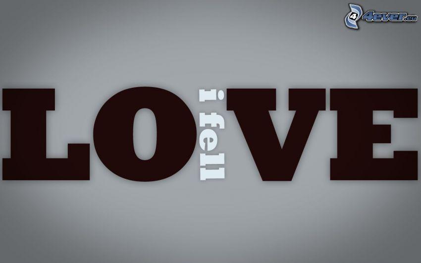 love, amore