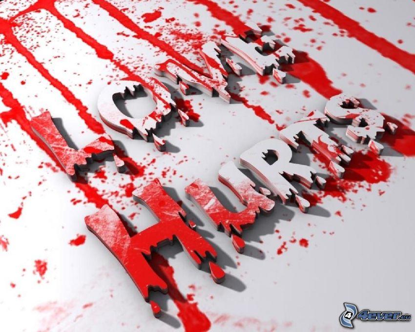 Love Hurts, sangue