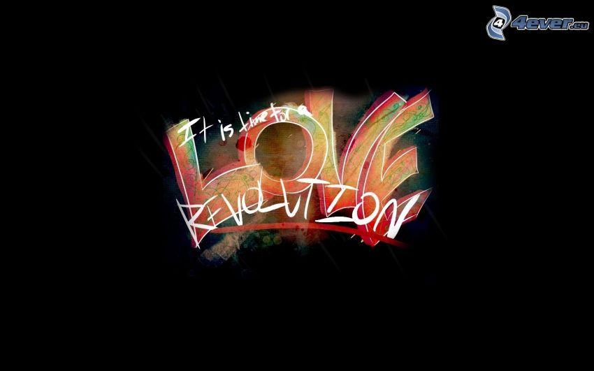Love revolution, amore
