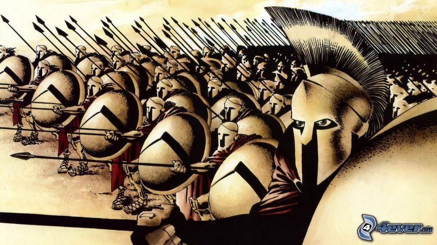 300, guerrieri