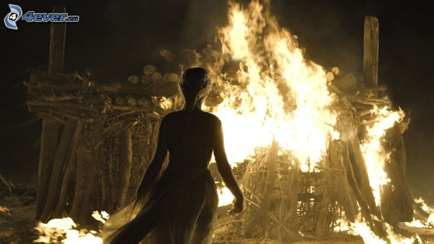 A Game of Thrones, fuoco