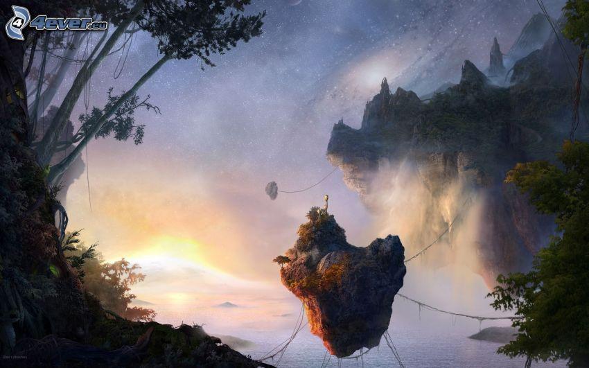 Avatar, isole volanti
