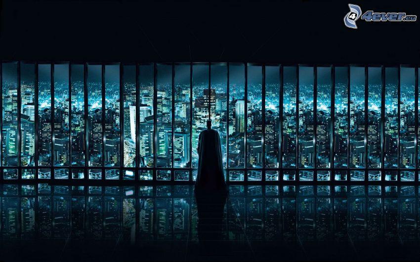 Batman, vista della città