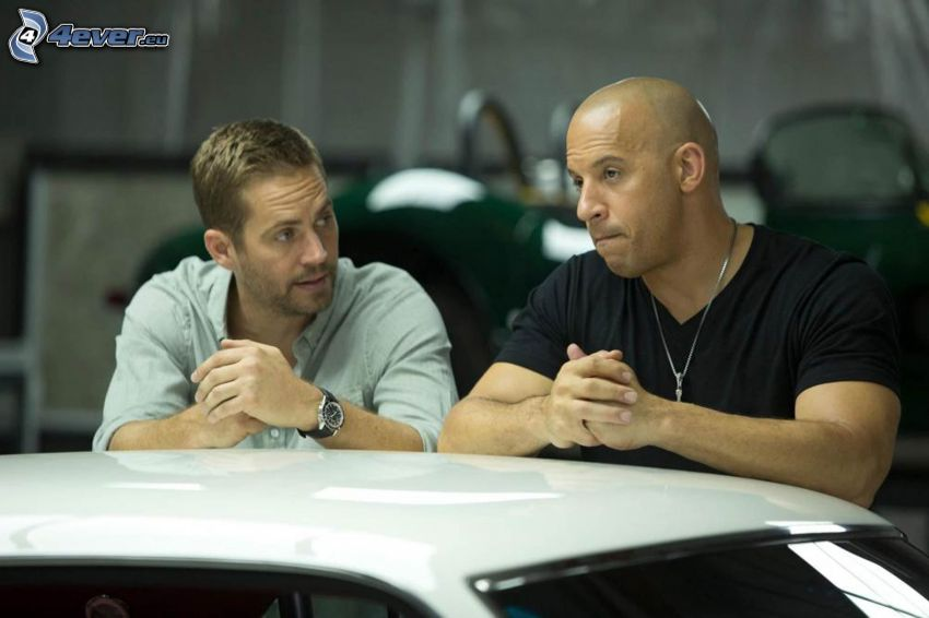 Fast and Furious, Paul Walker, Vin Diesel