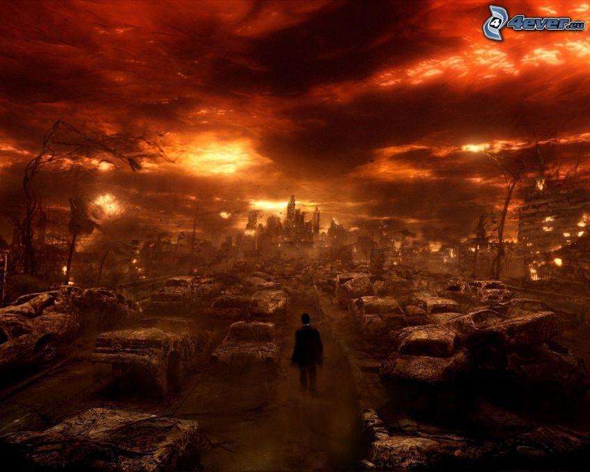 fine del mondo, relitto