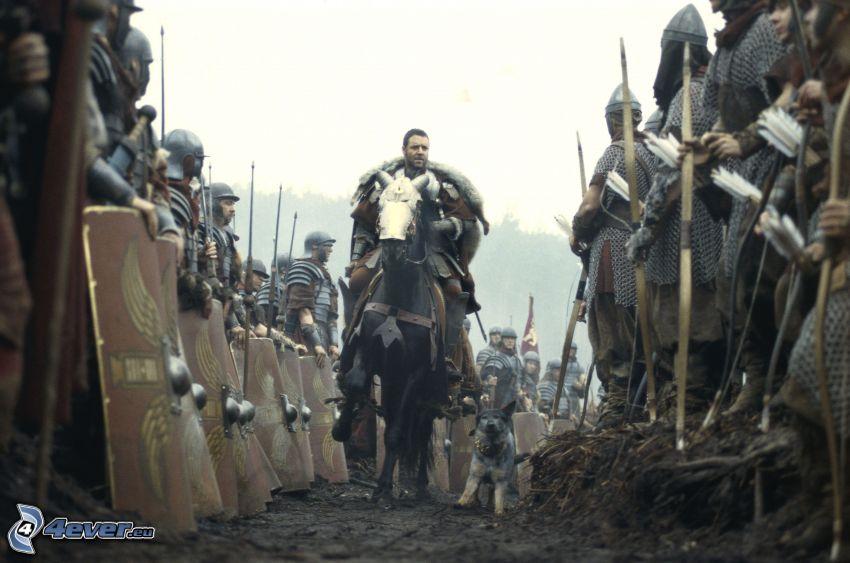 gladiatore, soldati