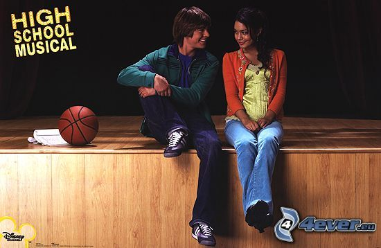 High School Musical, Troy & Gabriela, Zac Efron e Vanessa Hudgens