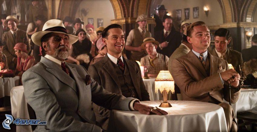 Il grande Gatsby, Nick Carraway, Jay Gatsby