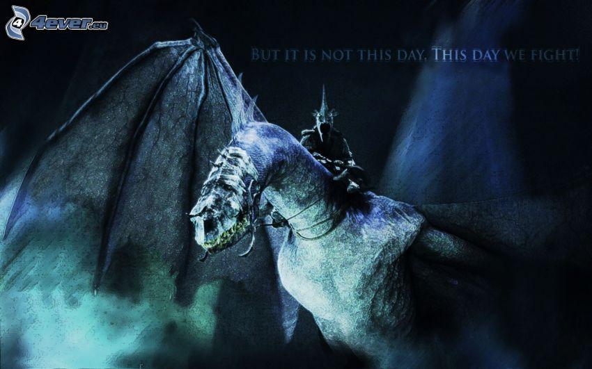 Il Signore degli Anelli, drago