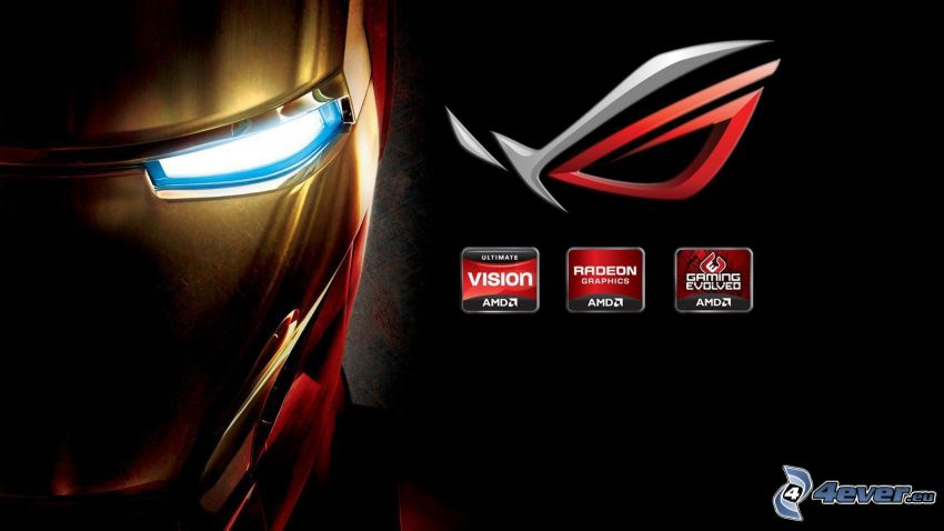 Iron Man, Asus, AMD