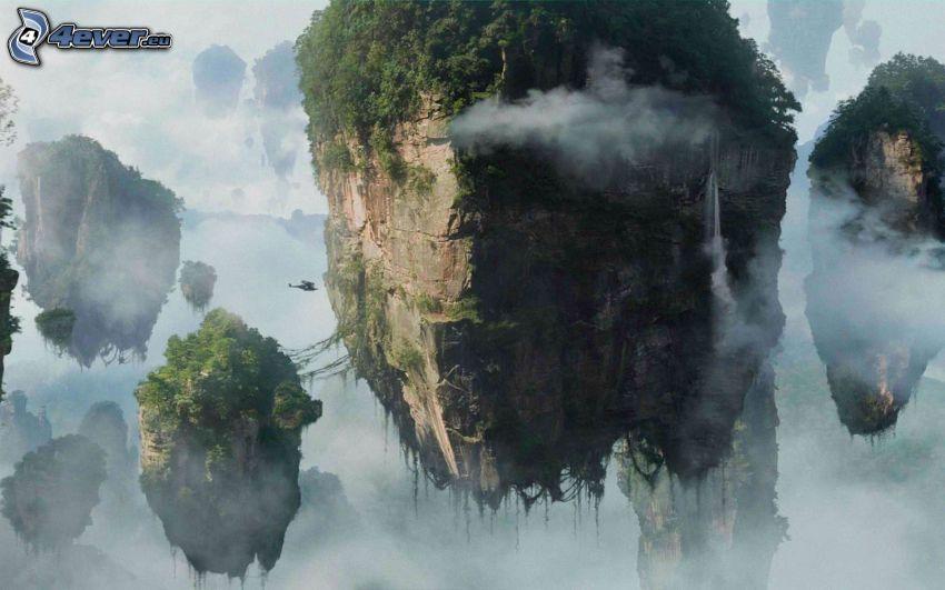 isole volanti, Avatar