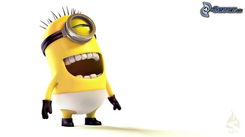 Minion, sorriso