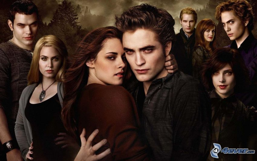 New Moon, Twilight, Edward Cullen, Bella Swan