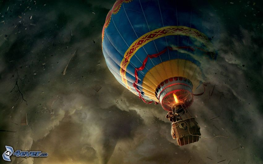 Oz the Great and Powerful, palloncino
