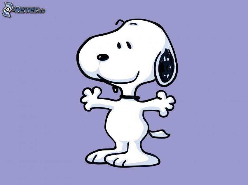 Snoopy, cane disegnato