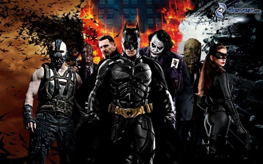 The Dark Knight, Batman, Joker
