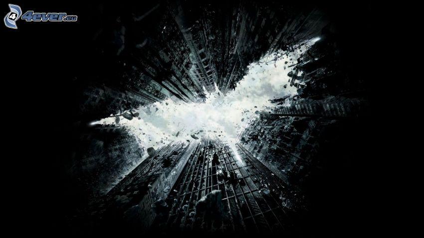 The Dark Knight Rises, grattacieli