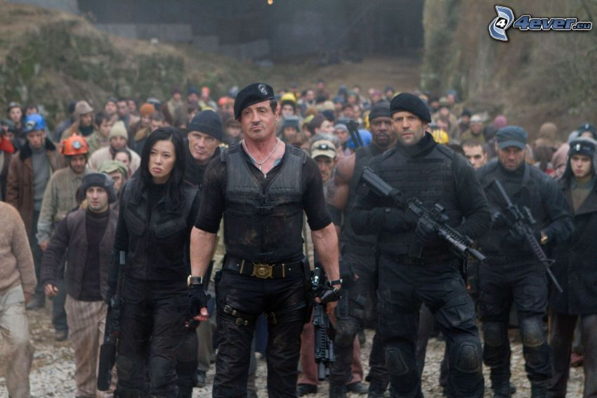 The Expendables 2, Sylvester Stallone