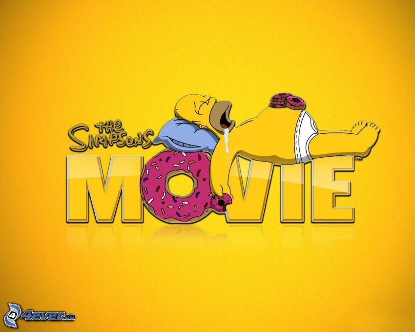 The Simpsons Movie, Homer Simpson
