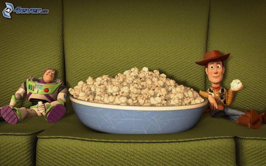 Toy Story 3, pop corn