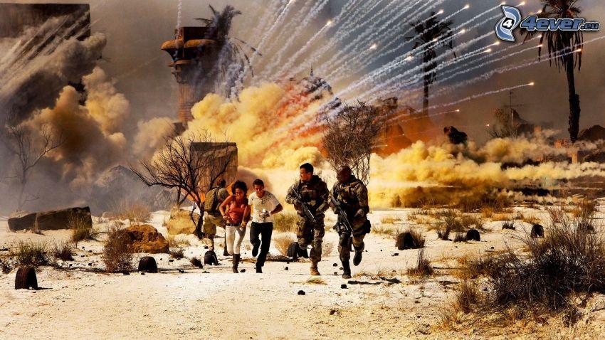 Transformers, esplosione