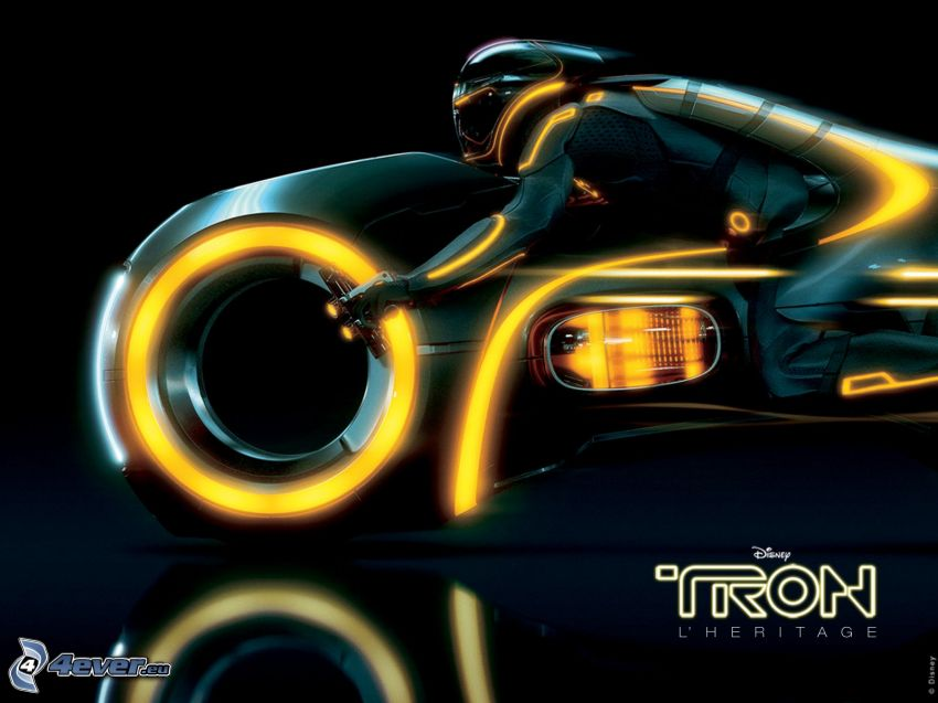 Tron: Legacy, motociclista