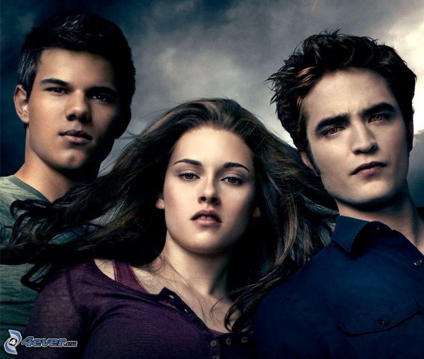 Twilight, Jacob Black, Bella Swan, Edward Cullen