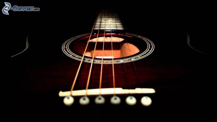 chitarra, corde