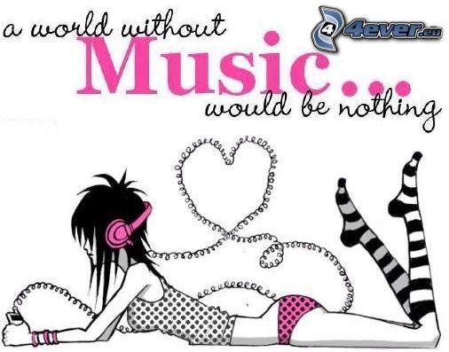 I Love Music, musica, amore, emo