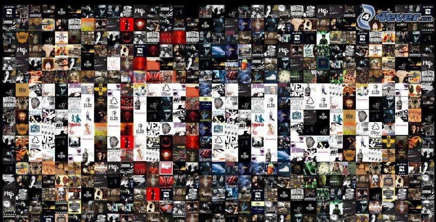 mosaico, hip hop
