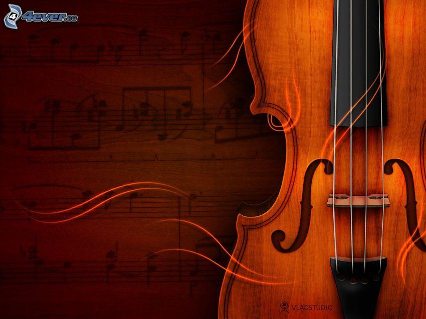 violino, note